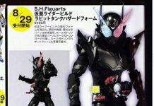 First Look S.H.Figuarts Kamen Rider Build Hazard Form