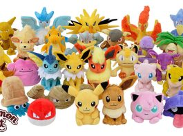151 Boneka Pokemon Gen 1