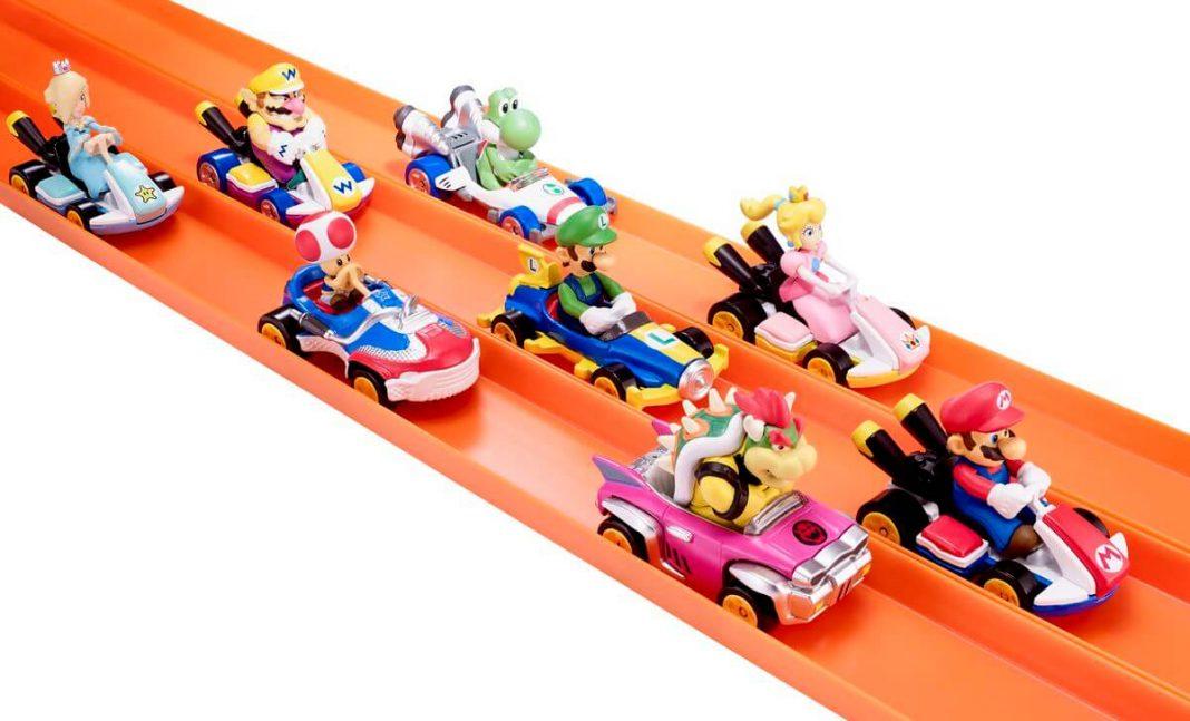 Hot Wheels Edisi Mario Kart