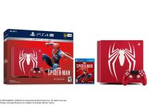 PS4 Pro Sony Spiderman Edition