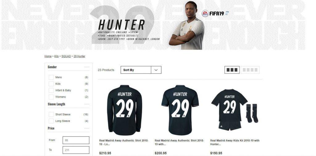 Real Madrid secara mengejutkan merekrutAlex Hunterpemain virtual daristory modedalam gameFifa 19.Yang jauh lebih mengejutkan lagi adalahReal Madridmenjual jersey dari pemain bernomor 29 tersebut pada toko resmi mereka !