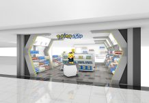 pokemon store di bandara kansai