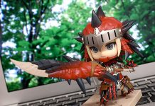 Nendoroid Hunter: Female Rathalos Armor Edition