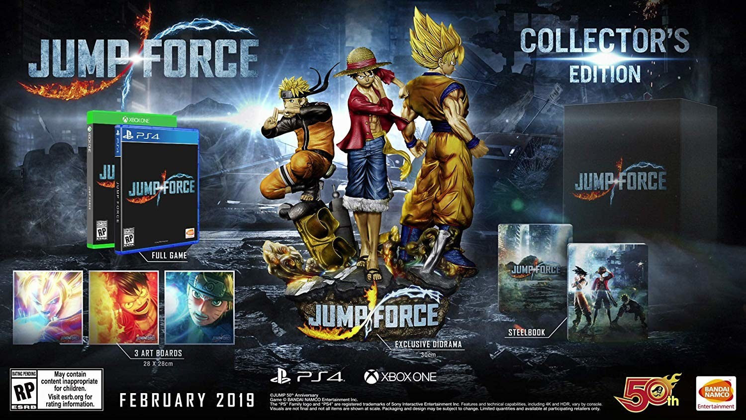 Jump Force TGS 2018