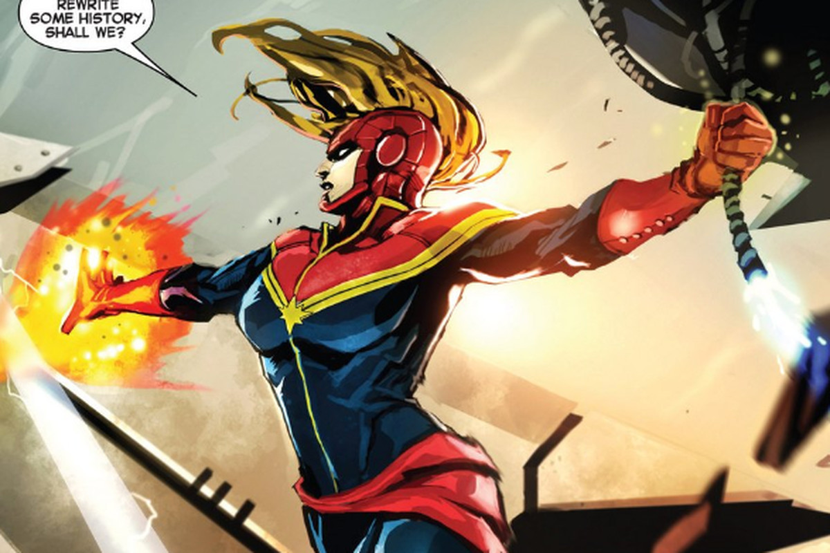 Kekuatan Captain Marvel's