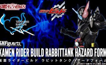 SHF Kamen Rider Build Hazard Form