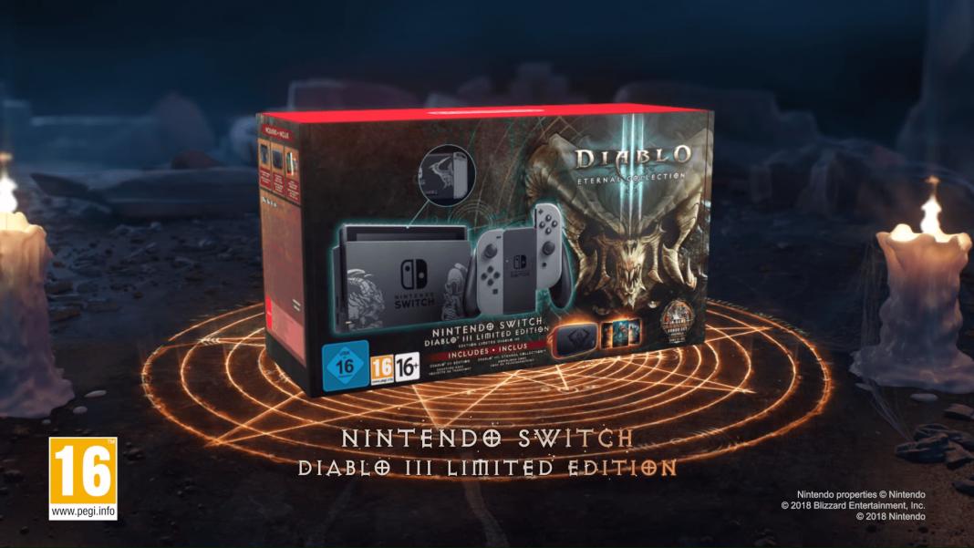 Nintendo Switch Edisi Diablo III