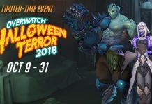 3 Skin Event Halloween Terror 2018