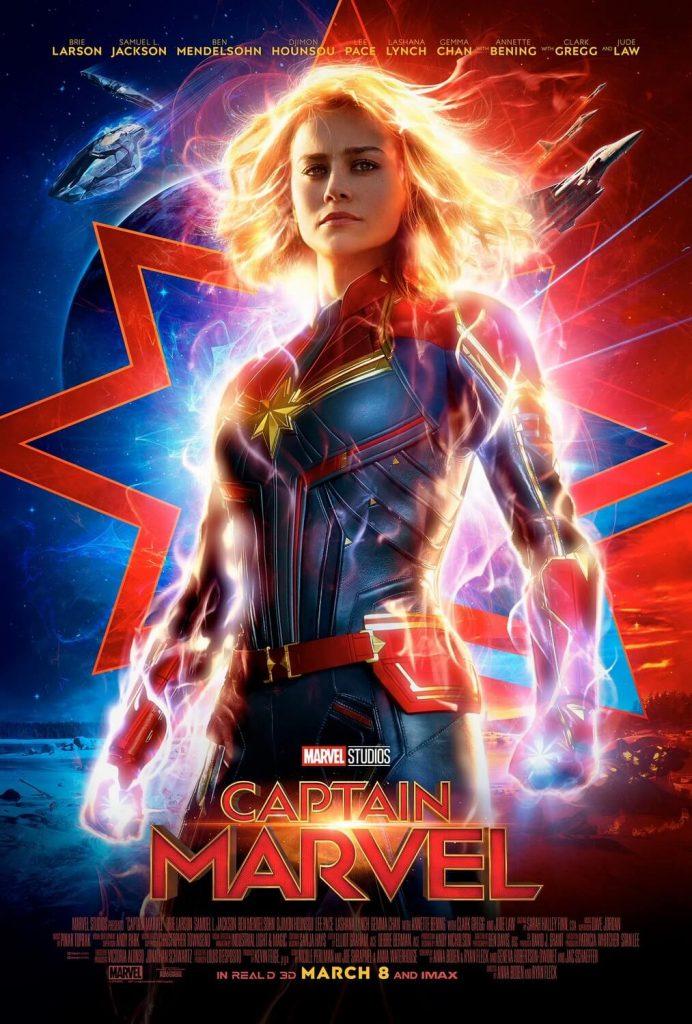 Poster Perdana Captain Marvel
