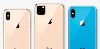 Tiga iPhone di 2019