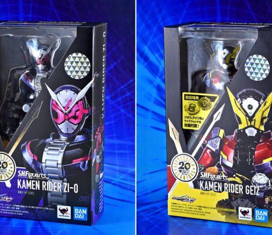 S.H.Figuarts Kamen Rider Zi-O dan Geiz