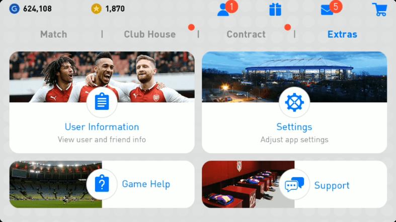 Extra Menu PES 2019 Android