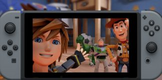 Kingdom Hearts 3 Nintendo Switch
