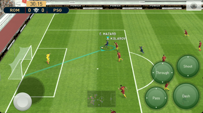 Gameplay PES 2019 AndroidGameplay PES 2019 Android