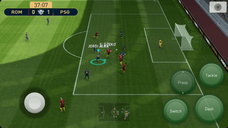 Gameplay PES 2019 Android