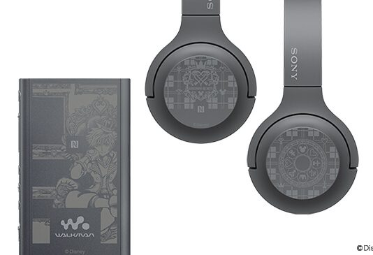 Walkman dan Headphone Wireless Edisi Kingdom Hearts 3