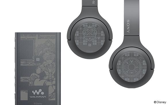 Walkman dan Headphone Wireless Edisi Kingdom Hearts 3