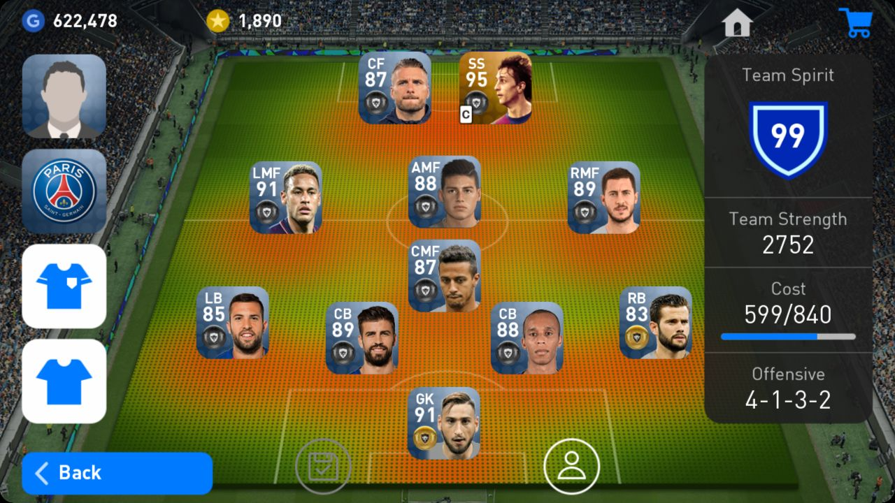 Squad Management PES 2019 Android