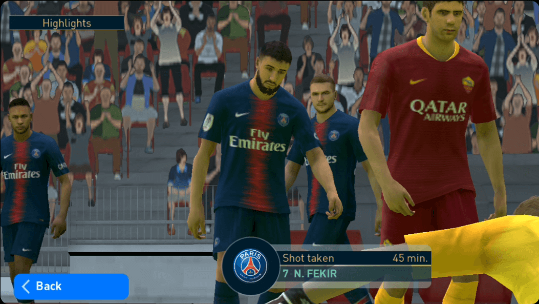 Graphic Detail di PES 2019 Android