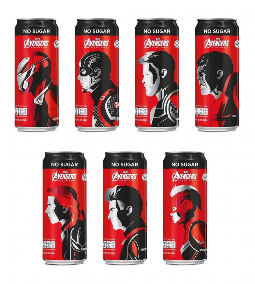 Avengers: End Game x Coca Cola