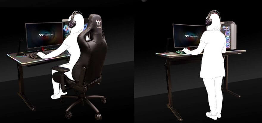 meja gaming khusus sultan
