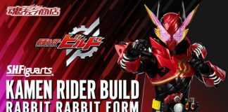 S.H.Figuarts Build Rabbit Rabbit Form