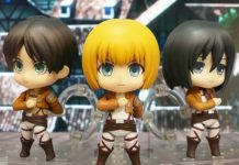 Nendoroid Trio Attack on Titan