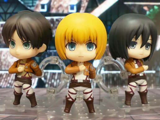Nendoroid Trio Attack on Titan