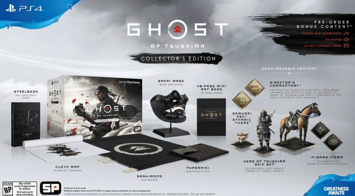 Special Version of Ghost of Tsushima