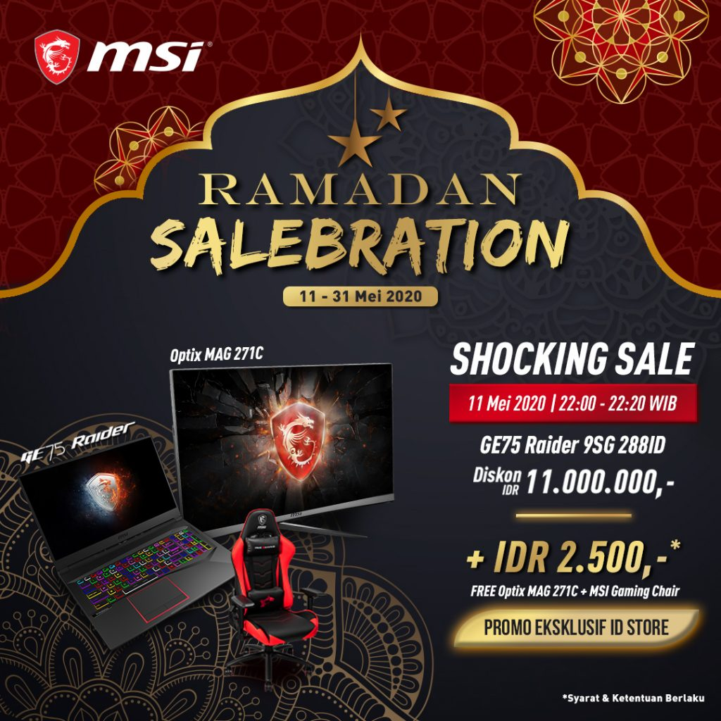 "Shocking Sale MSI ""RAMADAN SALEBRATION"""