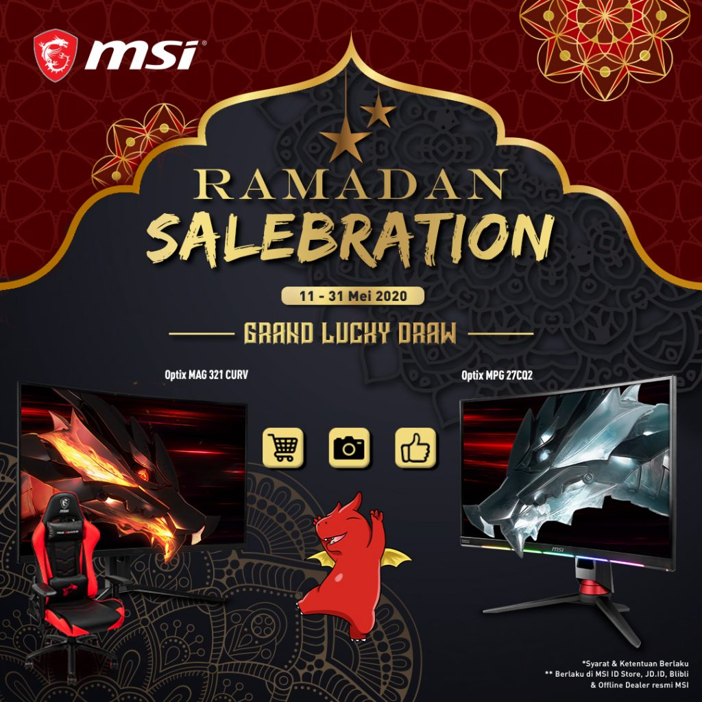 "Grand Lucky Draw MSI ""RAMADAN SALEBRATION"""