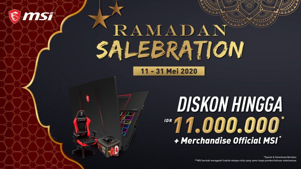 MSI RAMADAN SALEBRATION