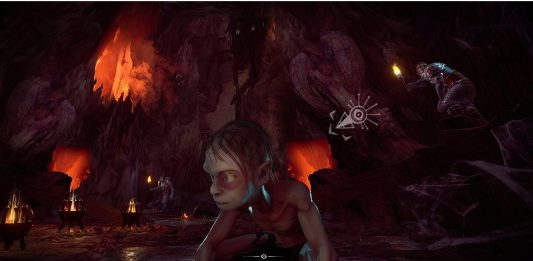 LOTR Gollum in-game screenshot