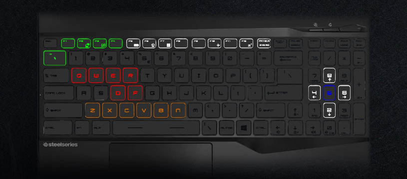 per-Key RGB by Steelseries