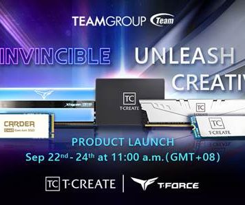 TEAMGROUP Product Launch