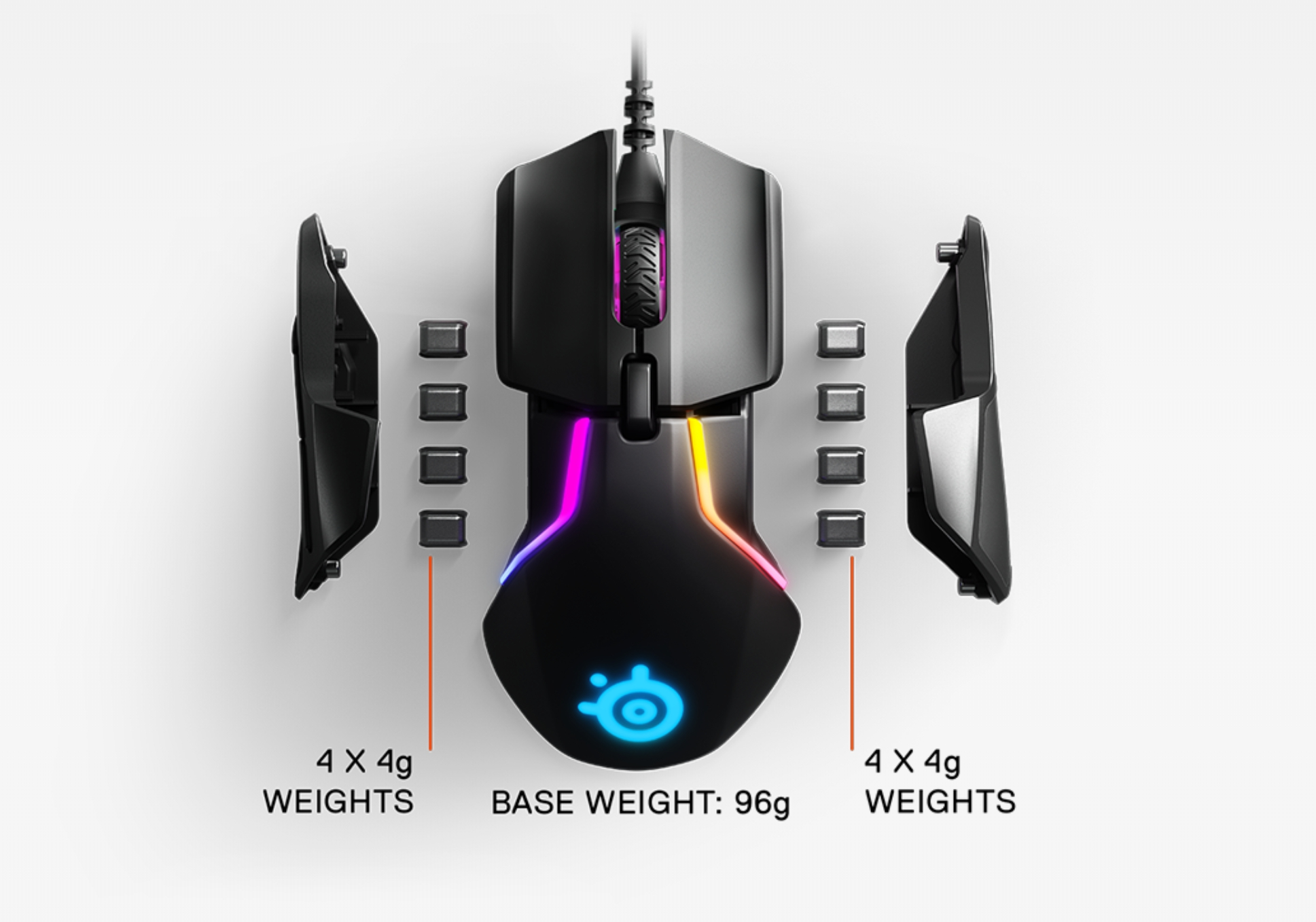 Rival 600 Detachable Side Grip