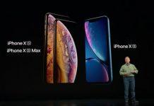 iPhone XR, XS, XS Max
