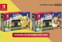 Nintendo Switch Pikachu & Eevee Edition