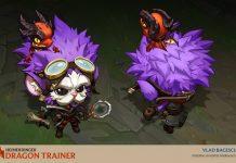 Skin Bertemakan Dragon Trainer