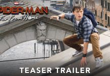Trailer Pertama Spider-Man: Far From Home