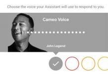 voice cameo pertama