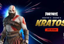 kratos di fortnite